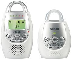 VTech Safe & Sound Digital Audio Monitor - 1000 feet of range, remote communication from parent to baby, and 18 hours of monitoring time on a single charge so you can travel about cord-free. #bestof2013