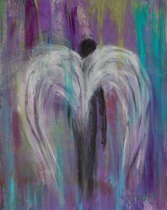 art journal, angel wings, anthoni trott, wing paint, inspir, angel walk, angels