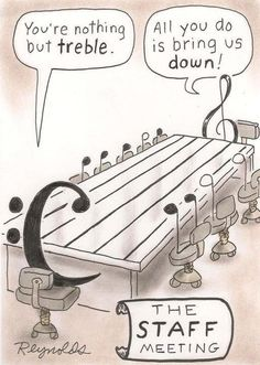 Nothing but treble...