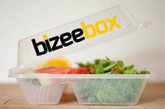 BizeeBox is a reusable, dishwasher-safe container that aims to remove takeout waste, Who's game to try this returnable #packaging idea? PD