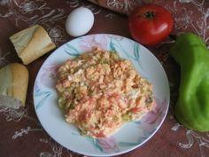 Turkish scrambled eggs