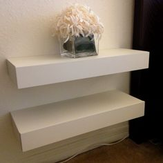 floating nightstand ideas | Floating nightstand