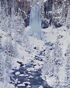Tumalo Falls. Bend, Oregon