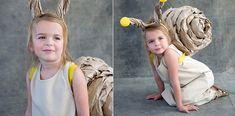 Disfraz casero de caracol para niñas - Disfraces caseros y tiendas de disfraces para niños - Especiales - Charhadas.com