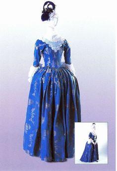 fashion femal, costumes, centuri fashion, ladies fashion, 18th centuri, histor chic, 1780, 17501850 cloth, day dresses