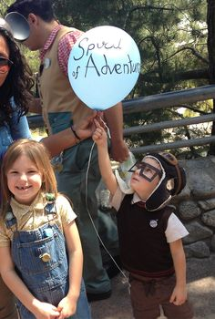 BRILLIANT! Up kids cosplay cosplay, heart, disneyland costumes for kids, halloween costumes, costume ideas, disney trips, kids fashion, spiral, character costumes