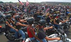 """""""Escort And Honor Ride"""": Bikers Rally Today For WWII Vets At Closed Memorial God Bless Our Patriot Bikers"""