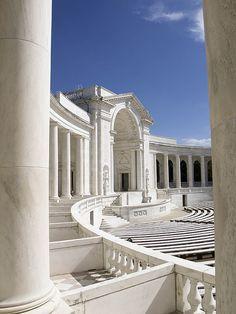 columns    Arlington Cemetery