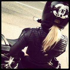 motorcycles, coco chanel, fashion, style, girl motorcycle helmets, biker chick, girly motorcycle helmets, ride a bike, rock