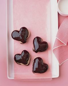 Chocolate Eclair Hearts Recipe