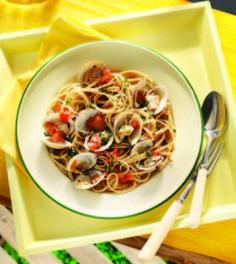 White Wine & Clam Linguini