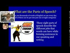 Part one of Research Triangle High's Video Stylebook by Deborah Brown The-Parts-of-Speech-Part-One--Overview