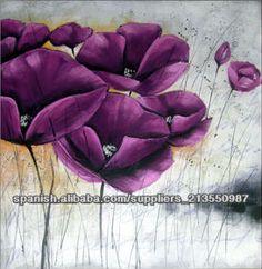 pintura al óleo abstracta pinturas de flores-Pintura y Caligrafía-Identificación del producto:300000140682-spanish.alibaba.com