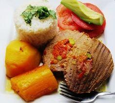 Stuffed Beef (Carne o Posta Rellena)