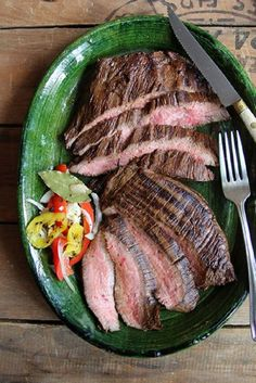 Coffee- and Soy-Marinated Flank Steak