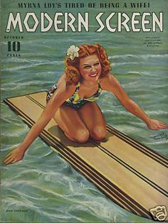 vintage surf posters
