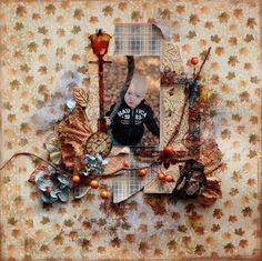 eleele-handmade: Fall is everywhere - Maja Design and Clear Scraps