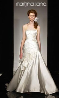 My dream wedding dress on pinterest size 10 pool for How much are martina liana wedding dresses