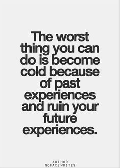 The worst thing you can do... #life #quote #behappy #love