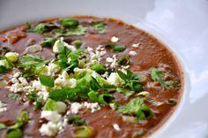 Black Bean soup. Yum!