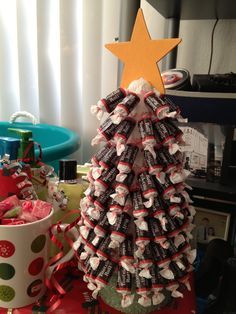 Tootsie Roll Christmas Tree