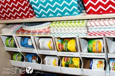 How to Organize a Pantry  #howdoesshe #pantry #organization #cannedfoodorganization #cannedfoodtip #pantrytips howdoesshe.com