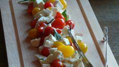Tomatoes and mozzarella: the perfect combination. #FSTaste