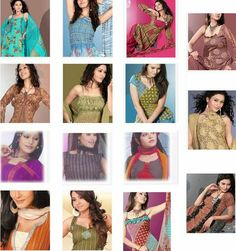 Salwar kameez neck patterns - they look beautiful, but a bit out of range for me