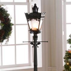 An Indoor Lamp Post
