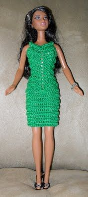 Zig Zag Short Dress - Hazel3Crochets