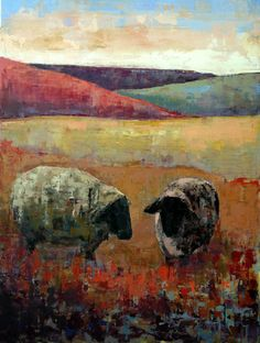 favoplaatj, sheep paintings, colors, animalia, sheep art