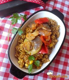 Italijanska mešavina i pirinač italijanska mešavina, glavna jela, veg recepi