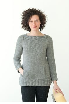 montagne by melissa labarre / in quince & co. puffin