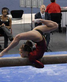 Gymnast on balance beam routine National Gymnastics Team Finals - PHOTOIVO #KyFun m.8.76 moved from @Kythoni main Gymnastics board