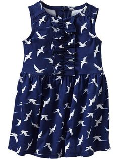 Old Navy | Ruffle-Front Sleeveless Dresses for Baby