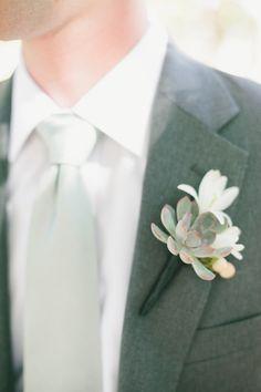 succulent | Wedding Design By / http://bearflagfarm.com