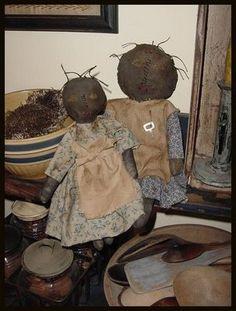 Black Prairie dolls