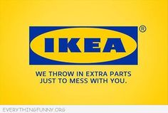 ad campaign, funni cartoon, furniture, ikea