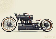 Train Wreck Bike by Colby Higgins