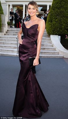 Stacy Keibler + gown