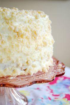 Lemon Crumb Cake.
