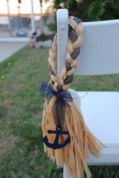 Nautical Wedding - Ceremony Anchor Decor