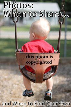 Photos: When to Share and When to Find Your Own #beoriginal