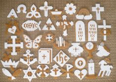 List of Christmas Ornaments representing Christ - Perler Bead Ornaments