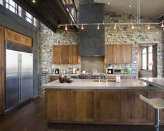 Track lighting in a kitchen (Spot Design Interiors)