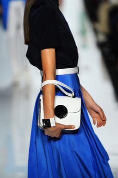 The Perfect #White #Bag at @Michael Kors #MBFW