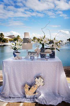 Nautical wedding - photo shoot Style My Celebration with Nicole Barralet Photograpy.  Full vendors list via http://www.stylemycelebration.com.au/gallery/nautical-wedding/
