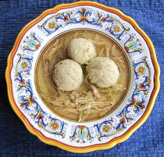 Shiksa Matzo Ball Soup