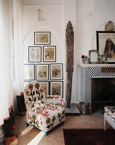 #MODERN #AFRICAN #HOME #INTERIOR  #DESIGN | African Chair | Yoruba Beaded Chairs