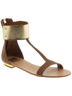 Today's So Shoe Me is the Bagley by Dolce Vita, $149, available at Piperlime. I'll admit it - I'm a metal head, anything with cool shiny metal in a flattering on trend style must be mine and these leather gladiator sandals by Dolce Vita are no exception.